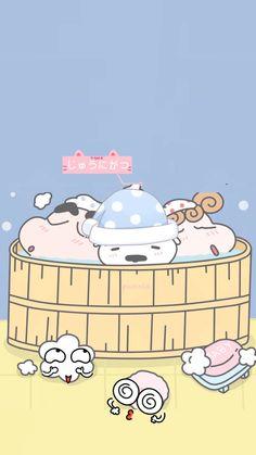 Sinchan Wallpaper, Cartoon Wallpaper Iphone, Kawaii Wallpaper, Galaxy Wallpaper, Wallpaper Quotes, Best Cartoons Ever, Cool Cartoons, Crayon Shin Chan, Cute Cartoon