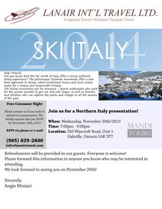 #Italy #ski #Dolomite #mountains #Europe #travel #Oakville Vacation Trips, Did You Know, Skiing, How To Memorize Things, Europe, Italy, Events, Mountains, Travel