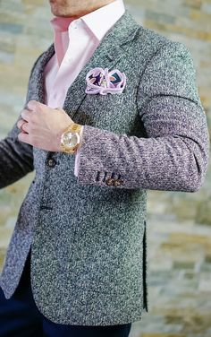 Every s by sebastian jacket includes a sebastian cruz couture pocket square of your choice. Formal Jackets For Men, Stylish Jackets, Sharp Dressed Man, Well Dressed, High Collar Shirts, Moda Chic, Mens Fashion Suits, Suit And Tie, Dress For Success