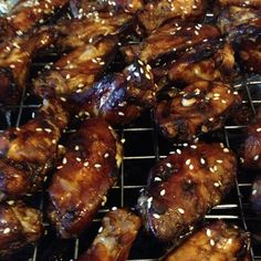 Sesame Chicken Wings | BigOven