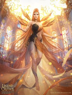 Legend of the Cryptids - Black Friday Goddess Adv by Viccolatte