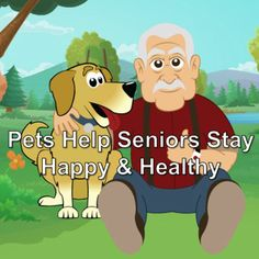 Who knew that pets could be so beneficial to  our aging loved ones?