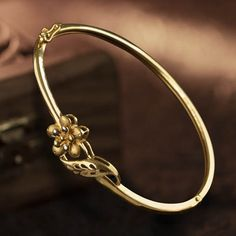 Plain Gold Bracelet jewellery for Women by jewelegance. ✔ Certified Hallmark Premium Gold Jewellery At Best Price Gold Bangles Design, Gold Jewellery Design, Gold Jewelry, Women Jewelry, Diamond Jewellery, Jewelry Bracelets, Diamond Necklace Simple, Gold Aesthetic, Aesthetic Vintage
