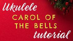 CAROL OF THE BELLS Easy Ukulele Tutorial - Ukulele Christmas Challenge Day 12 - YouTube Christmas Ukulele, Carol Of The Bells, Christmas Challenge, Teaching Music, 12 Days Of Christmas, Free Printables, Challenges, Songs, Learning