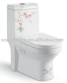Hand Painted Toilet 9131 With Iris & Sanitary Ware In The Bathroom - Buy Sanitary Ware,Shower Enclosure,Shower Enclosure Product on Alibaba....