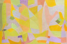 Champs de Lavande by Othello Radou Oil on canvas: 130 x 195 cm Dated 1962
