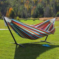 Shop Vivere Sunbrella Hammock with Stand at Lowe's Canada online store. Find Hammocks at lowest price guarantee. Garden Hammock, Rope Hammock, Hanging Hammock, Hammock Swing, Hammock Chair, Porch Swing, Best Hammock With Stand, Sleeping Hammock, Hammocks