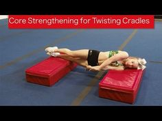 Core Strengthening for Twisting Cradles A flyer needs to understand the importance of core strength and arm positions in their skills, especially in a full t. Gymnastics Stunts, Olympic Gymnastics, Cheer Routines, Cheer Workouts, Cheerleading Quotes, Cheer Quotes, Olympic Badminton, Olympic Games Sports, Cheer Coaches