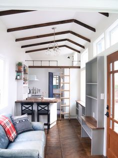 The Pacific Getaway: a luxury two-bedroom tiny house from Handcrafted Movement!