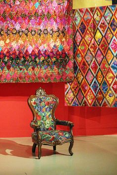 Kaffe Fassett: a life in colour, by I Want You To Know UK Fashion Blog, via Flickr