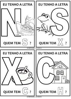 PARAÍSO DO EDUCANDO: Jogo do Alfabeto