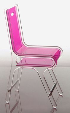 "thedesignwalker:  Ten Top Images on Archinect's ""Furniture"". @Deidré Wallace: Chairs Sofas, Archinect Furniture, Color, Plastic Pink, Archinect Image, Pink Chairs, Oehm Design, Originals Chairs, Image Galleries"