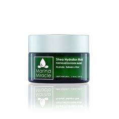 Ansiktsmaske - Shea Hydration Mask - 30 ml E30, Aloe Vera, Natural Skin Care, Detox, Glow, Nature, Organic Skin Care, Nature Illustration, Off Grid