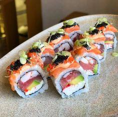 I Love Food, Good Food, Yummy Food, Healthy Snacks, Healthy Eating, Healthy Recipes, Sushi Recipes, Cooking Recipes, Food Porn