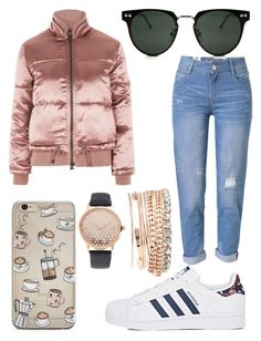 """""""Cute Casual Winter"""" by susan-denton on Polyvore featuring Topshop, WithChic, adidas, Spitfire and Jessica Carlyle"""