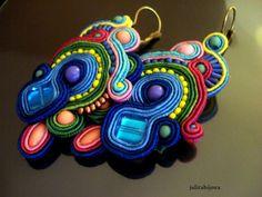 Boucles d'oreilles Adeline : Boucles d'oreille par julitabijoux