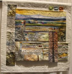 "Jean Wells Keenan - Poetry of Home 40""x39"""