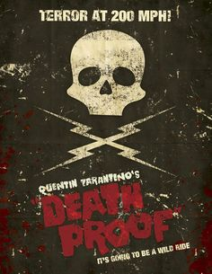 Death Proof fan made poster