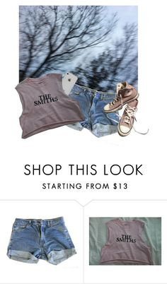 """Cold..."" by comaxblack ❤ liked on Polyvore featuring Levi's and Converse"