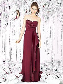 Social Bridesmaids Style 8119    #red #bridesmaid #dress
