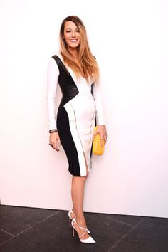 All the best dressed celebrities front row at New York Fashion Week: Blake Lively