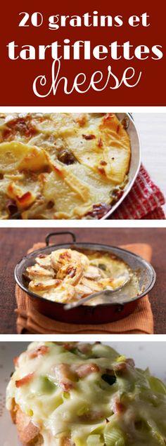 recettes gratinées au fromage !