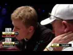 Royal Flush At World Series Of Poker - AMAZING!