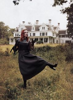 Karen Elson, shot by Tim Walker