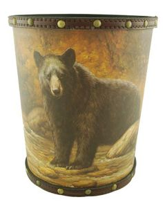 Bear Design Waste Can