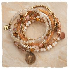 Peaches 'N Cream Bracelets