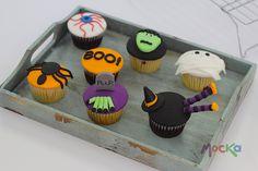 ¡Halloween #Cupcakes!  www.mocka.co  #mocka #pasteleria #cakeshop #cake #halloween #halloween2014 #ponque #torta #halloweenideas #ideashalloween