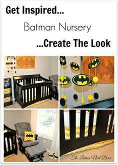 Batman Nursery - Get the look with a collection of step by step tutorials