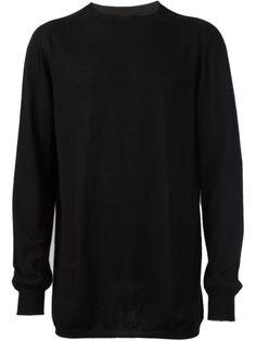 RICK OWENS Kaschmir-Sweater Mit Schmaler Passform. #rickowens #cloth #passform