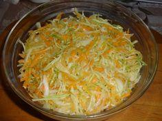 Surówka chińska Coleslaw, Cabbage, Vegetables, Food, Coleslaw Salad, Veggies, Essen, Cabbages, Vegetable Recipes