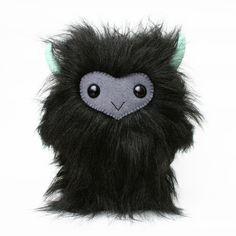 Adorable monster plush