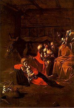 Adorazione dei pastori è un dipinto del pittore italiano Caravaggio realizzato in olio su tela (314 × 211 cm) nel 1609. È custodito nel Museo Regionale di Messina.