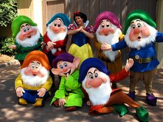 Snow White and the Seven Dwarfs!!!