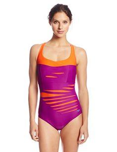 73172c3631 Aqua Zumba by Speedo Women s Slash-O-Rama Cross Back Swimsuit  64.95  Speedo