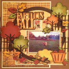 Nanne's Creations: Fall/Autumn die cut challenge- SOUS