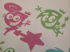 Wall at Nickelodeon Animation Studios!