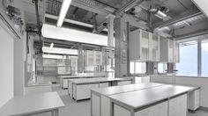 WALDNER service ceiling - laboratory furniture SCALA