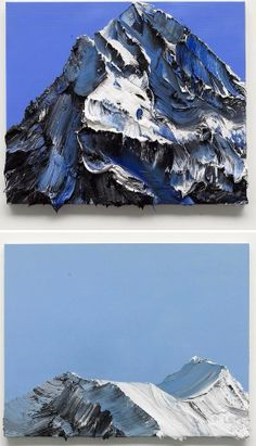 mpressive Mountains Paintings by Conrad Jon Godly