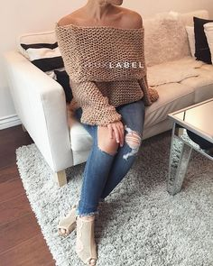 For the love of it all --#FALL . The Oatmeal Sweater at jluxlabel.com