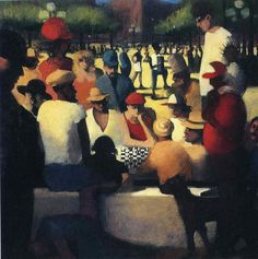 Bill Jacklin - Chess in a park WWW.RICARDOSAMUDASINCLAIR.COM