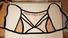 Fashion embroidered bra by Ligentlerie