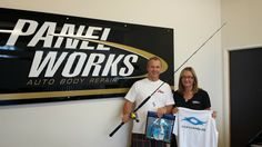 Winner of the Ocean Angler gear was panel Works. Well done .Shot by Craig Connelly