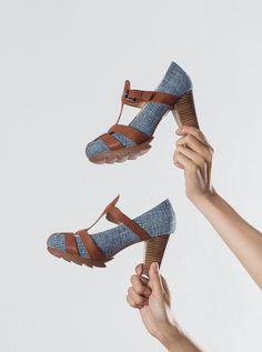High Heels Clogs #shoes #summershoes #clogs #springshoes #fashion #chaussure #femme #women