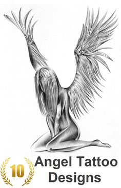 Check out our top 10 Angel Tattoo Designs for Girls: