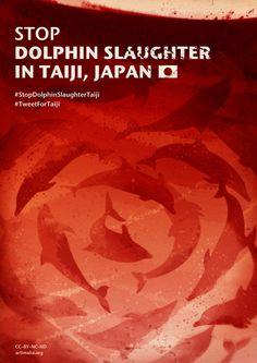Dit is een plaatje over de dolfijnenslachting in Japan, dit plaatje ga ik gebruiken bij het maken van mijn ontwerpen
