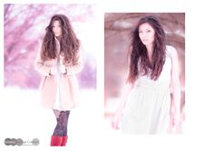 Pink snow #snow #winter #beauty #dreams #nomakeup #nikon #natural #light #bokeh #photography #retouching